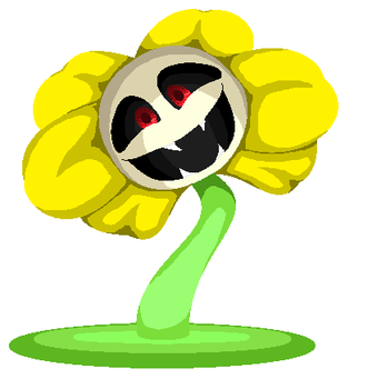 Flowey: You know what's going on here, don't you? by PastelCandyy