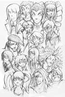 Dangan Ronpa (All Characters) by EatinIce