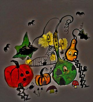 Pumpkin Town by mother6rusia9domina