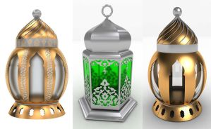 Arabic Lanterns by Digital-Saint
