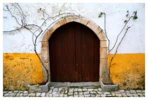 Obidos Old Door II by FilipaGrilo