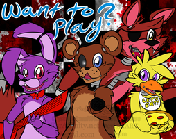 Want to Play? by BlueWaterRose