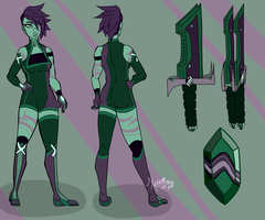 Fluorite ref NEW by TheXzina