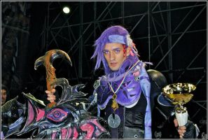 Winner Caius N^ECG016- Best Accessory Exhibition by LeonChiroCosplayArt