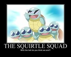 Squirtle Squad by chibidetective2