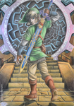 Link at the Gate of Time by VKliza