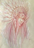 Tribal Goddess by tpatrick