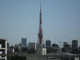 Tokyo Tower by mackymole