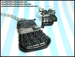 Dalek Set by GrandmaThunderpants