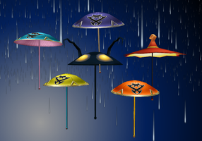 KH umbrellas by KohakuUme6