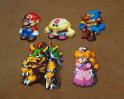 Perler Super Mario RPG Collection by Pika-Robo
