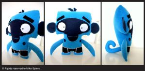 Monkey Plush toy by spiers84