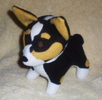 Kipper the Corgi Commission by StitchyGirl