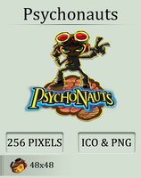 Psychonauts Icon by UltimateAoshi