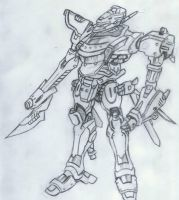 In Articulo Mortis Mecha Unit by Jays0nnn