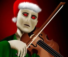Voldy the Violinist by phoenixfyre6967