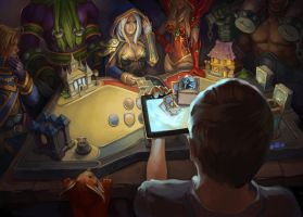 Hearthstone match by Sycamore-Eve