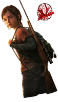 Ellie Render - The Last Of Us by JA-Renders