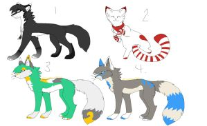 Free Adopts 2/ Closed by ThatsRawrtasticxD