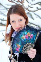 Lidia in Winter 4 by SmileyG