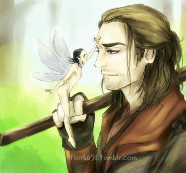 Fairy Loki and the Huntsman by Florbe
