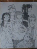 Maximum Ride Characters by AJVRPG
