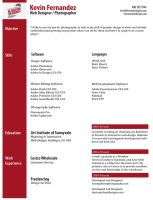 My Professional resume by NikonD50