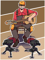TF2 - red engie by sydtan