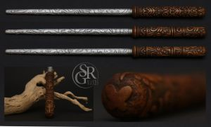 The Vorpal Wand - Alice Madness Returns - inspired by SRG-Wands