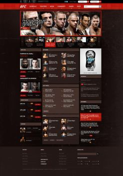 UFC Redesign. by ECP-Pro