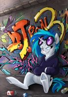 Canterlot Graffiti by sophiecabra