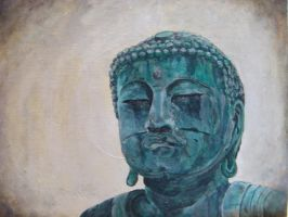 buddha head by musicophilia