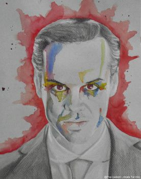 Jim Moriarty FanArt - The King's Fool by Pop-custom
