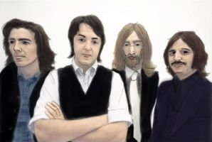 The Beatles Fan Art by MPRocker13
