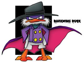 Lil' Darkwing Duck by 5chmee