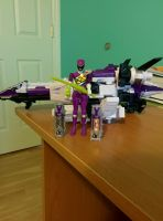 Dino Charge Purple Ranger Collection by SentaiFive