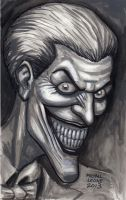 Joker Portrait 7-2013 by myconius