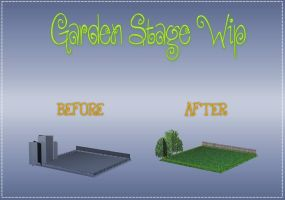MMD| Garden Stage WIP by Yoshi-Akira