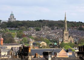 Lancaster skyline by irwingcommand