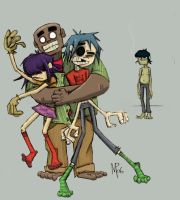 Gorillaz- Group Hug by Veleven