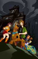 Mystery Inc by blackmoonrose13