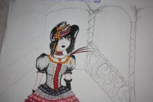 WIP_Versailles inspired by RoxiaMagicGirl