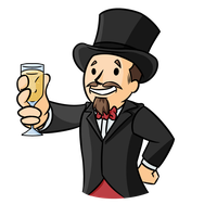 Top Hats and Champagne by KingVego