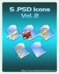 5 .PSD Icons Vol. 2 by Wearwolfaa