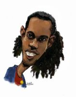 ronaldinio caricature by efdemon