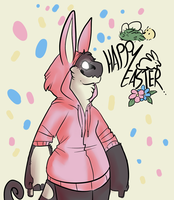 happy ol easter by HauntedHomo