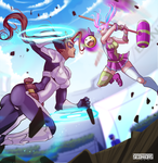 Detroit Justice vs Candy Crush by Seonidas