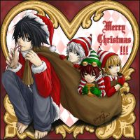 Death Note Christmas by yuumei