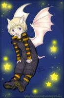 Twinkle Twinkle Little Bat by nekophoenix