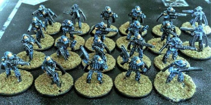 15mm Planetary Marines 'Wasp' Jumptroopers by Spielorjh